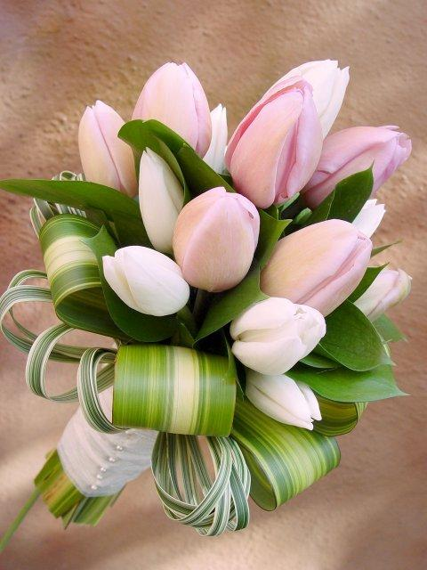 53ef0016e Svadobne kytice : Svadobná kytica Tulip